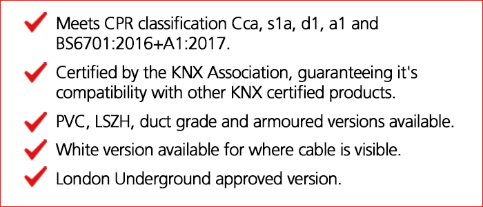 KNX Key Selling Points